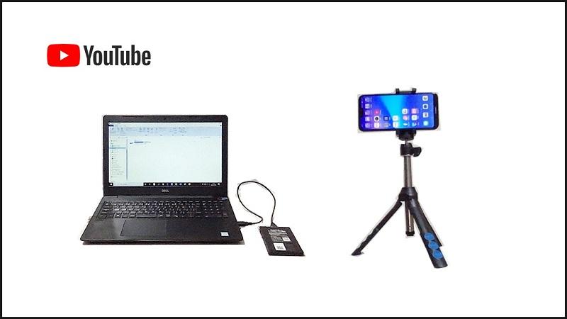 私が使っているYouTube撮影機材は時短、安価、簡単で初心者も安心!