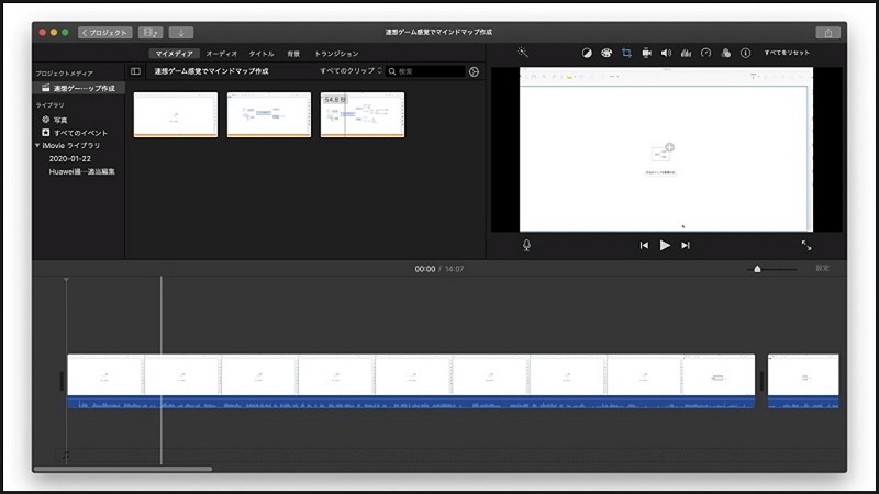 YouTube動画編集パソコンソフトの定番、MacBook ProのiMovieで始める!